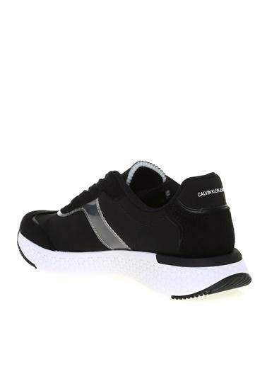 Calvin Klein Calvin Klein Kadın Siyah Baskılı Sneaker Siyah